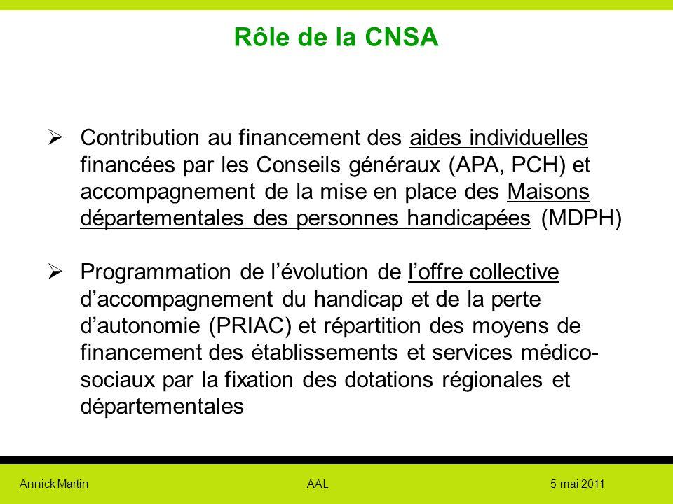 Rôle de la CNSA