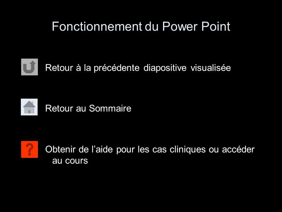 Fonctionnement du Power Point
