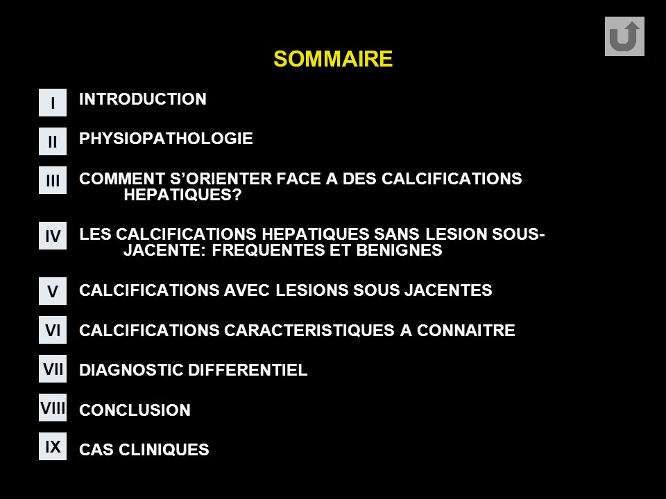 SOMMAIRE I INTRODUCTION PHYSIOPATHOLOGIE