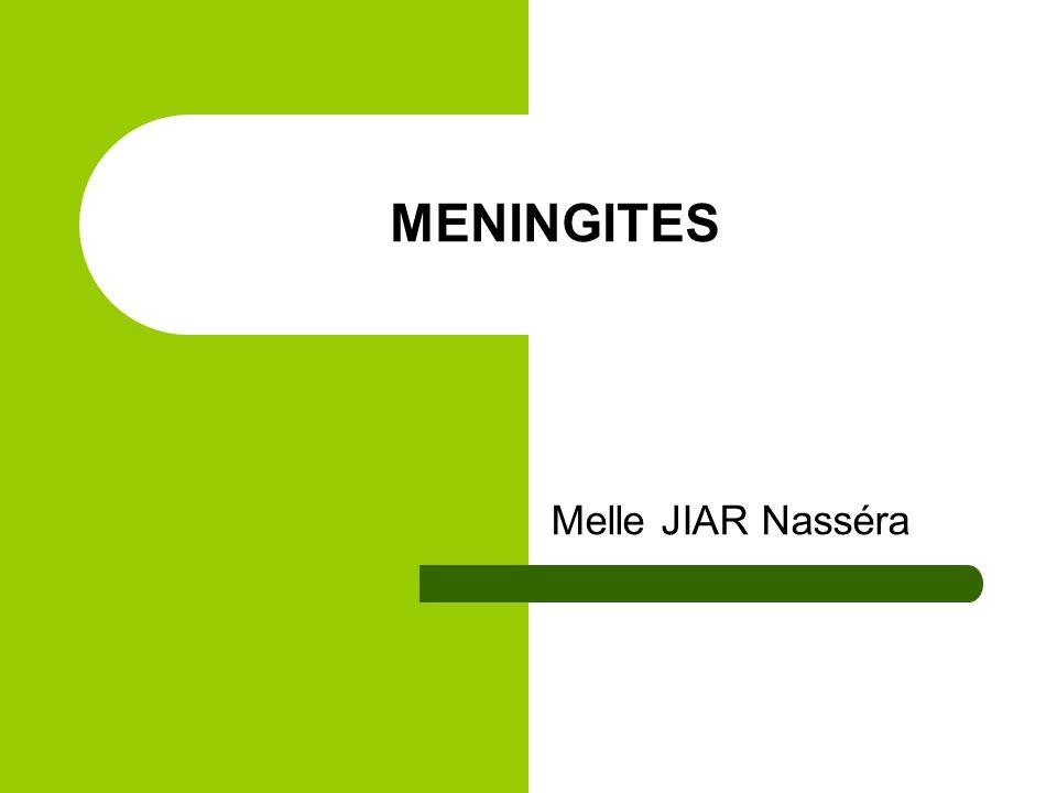 MENINGITES Melle JIAR Nasséra