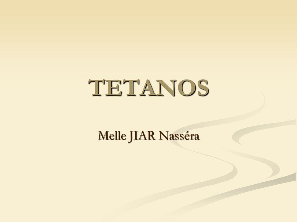 TETANOS Melle JIAR Nasséra