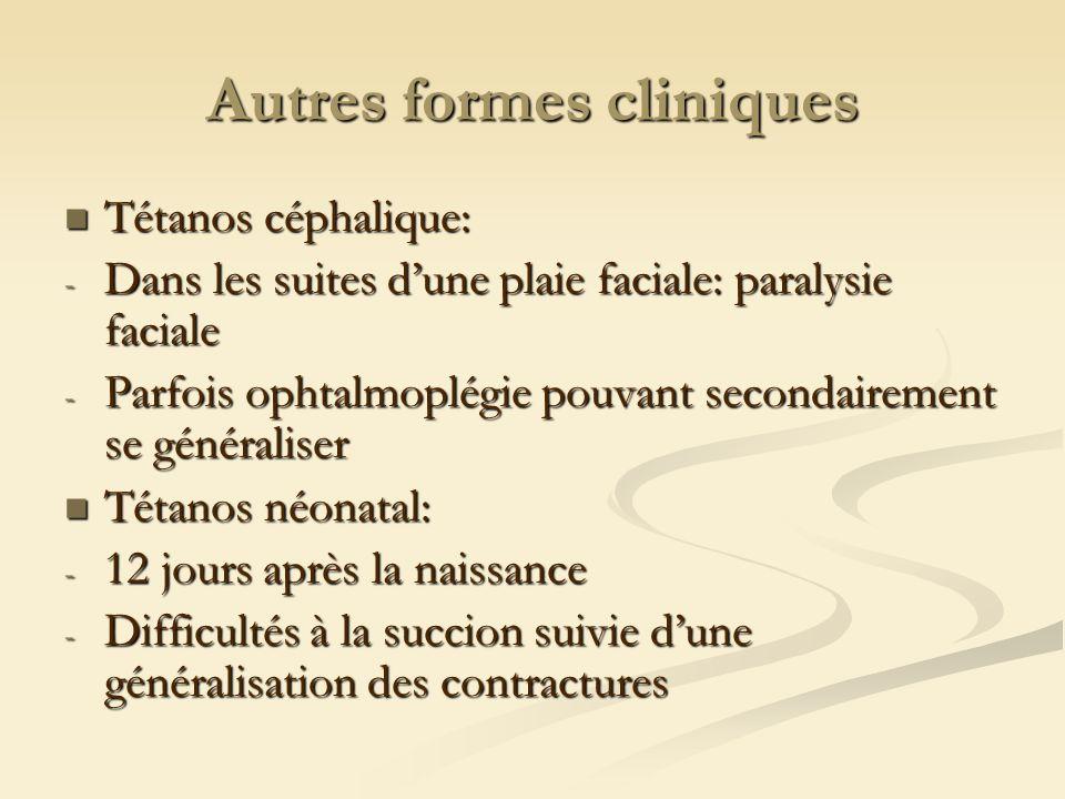 Autres formes cliniques