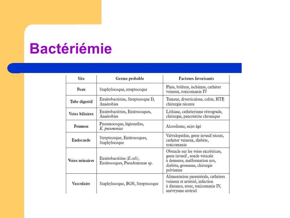 Bactériémie