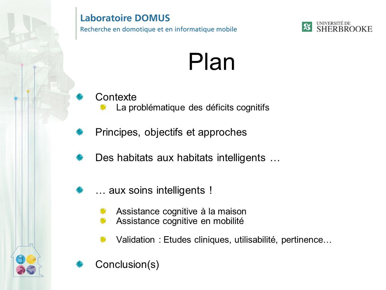 Plan Contexte Principes, objectifs et approches