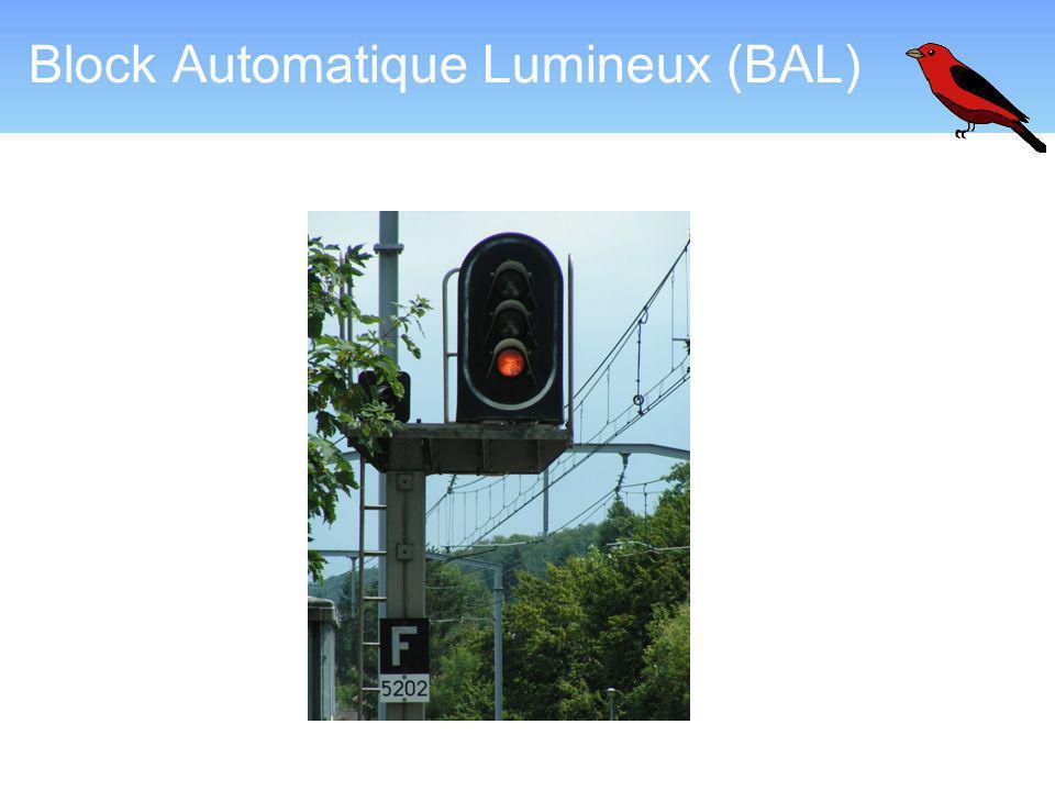 Block Automatique Lumineux (BAL)