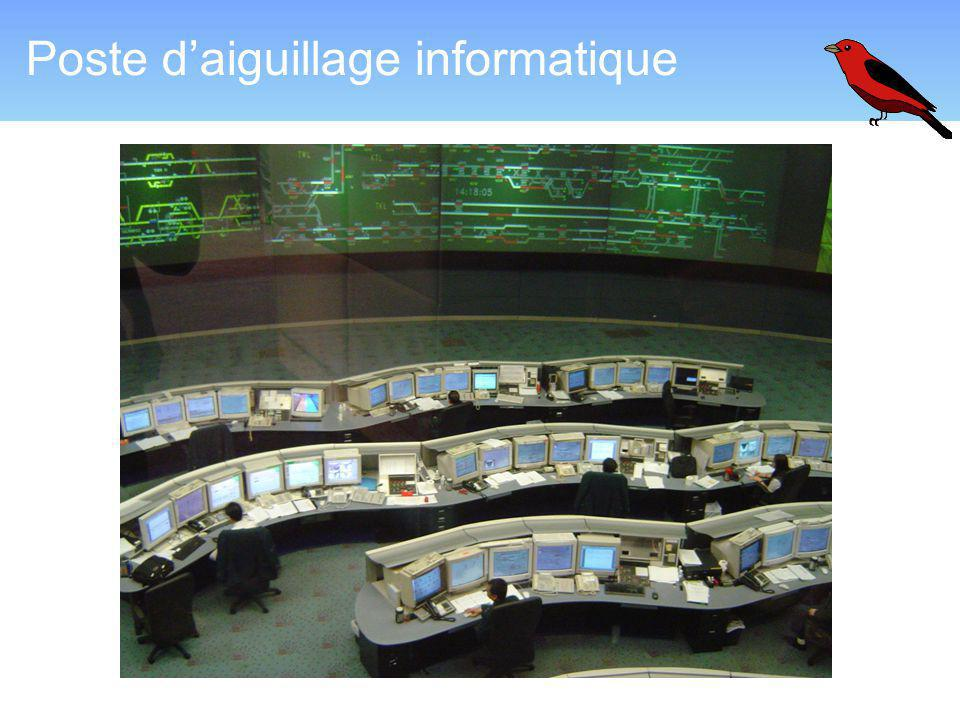 Poste d'aiguillage informatique