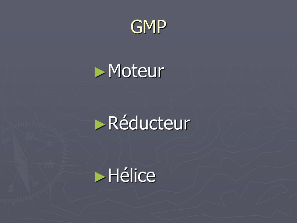 GMP Moteur Réducteur Hélice