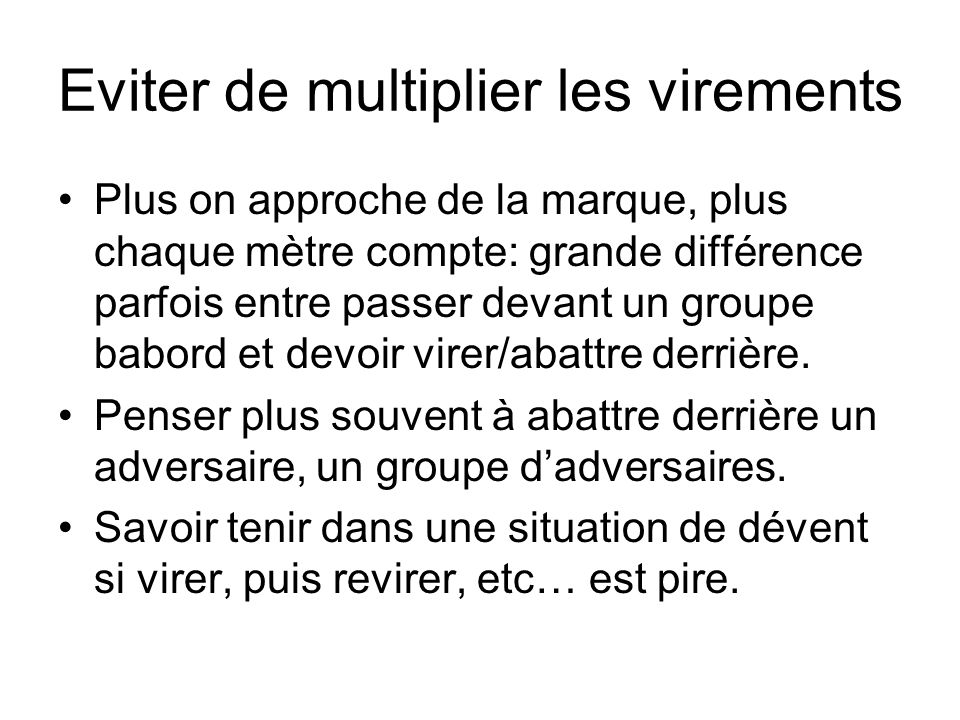 Eviter de multiplier les virements