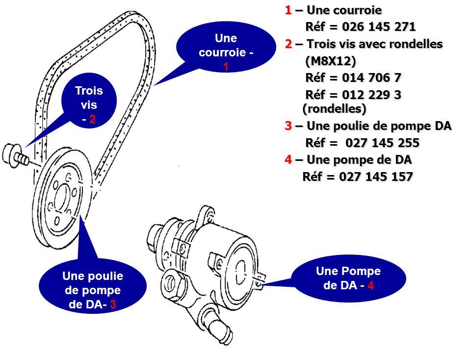 Une poulie de pompe de DA- 3