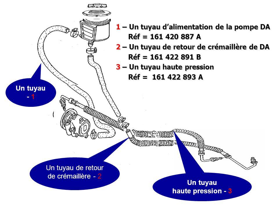 Un tuyau de retour de crémaillère - 2