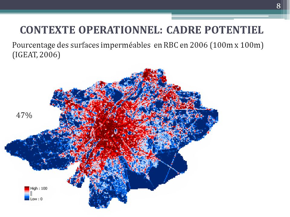 CONTEXTE OPERATIONNEL: CADRE POTENTIEL