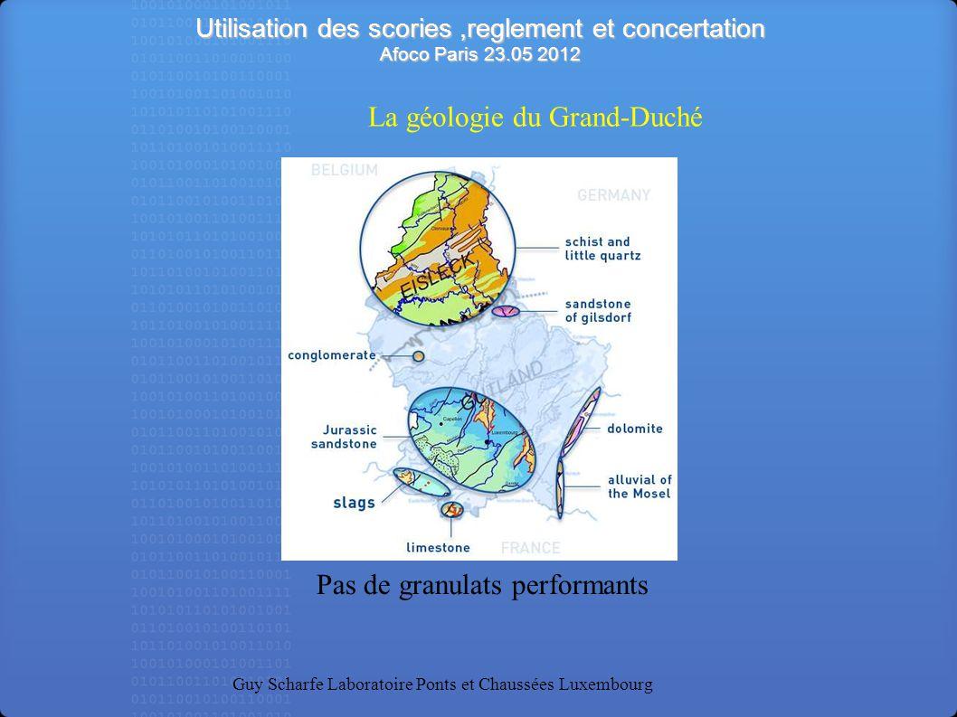 La géologie du Grand-Duché