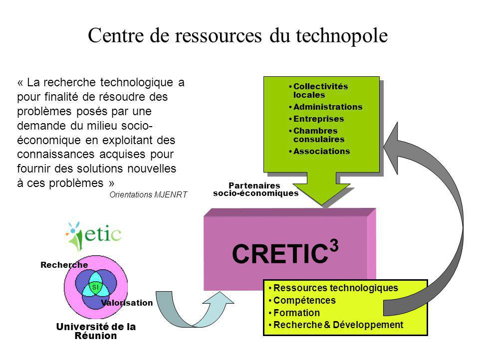 CRETIC3 Centre de ressources du technopole