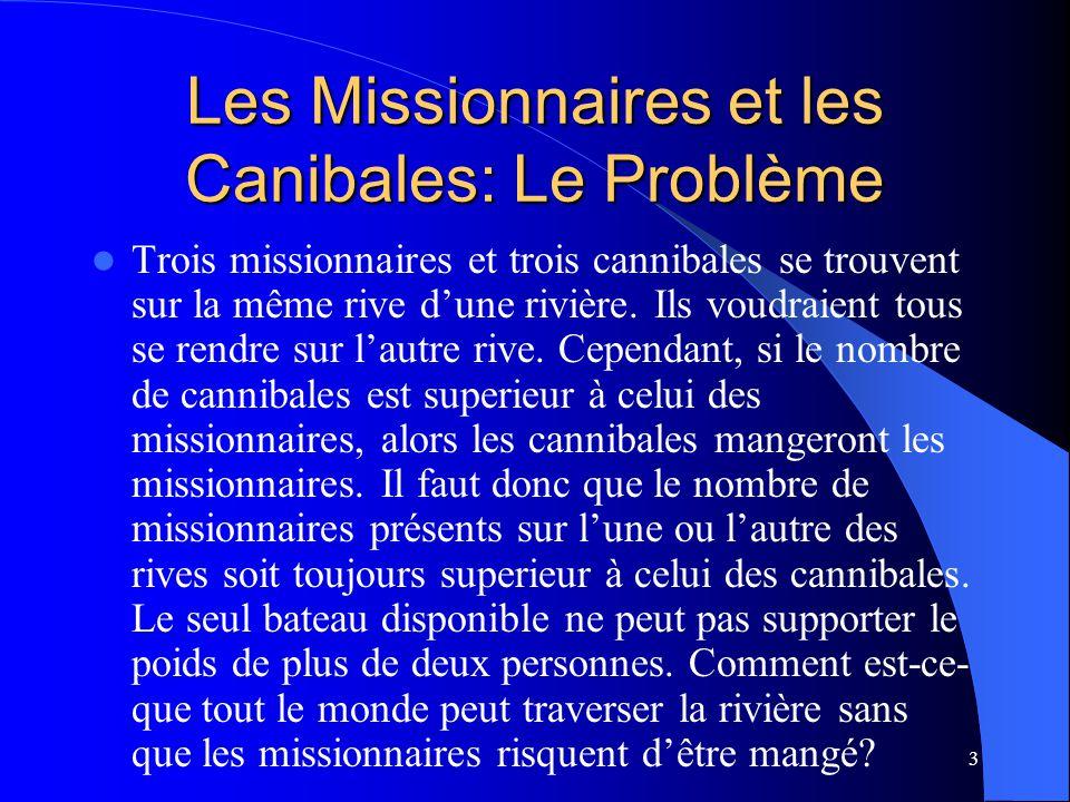 Les Missionnaires et les Canibales: Le Problème
