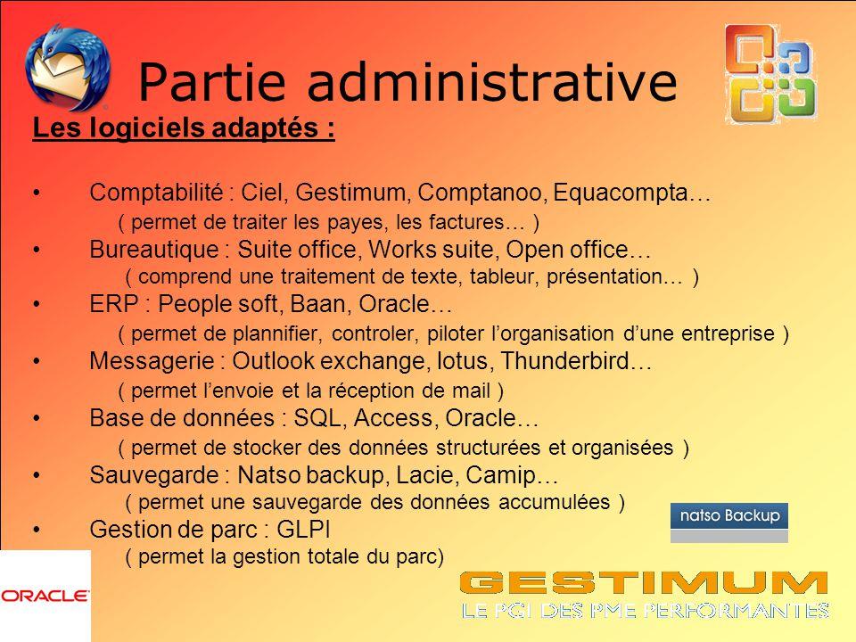 Partie administrative