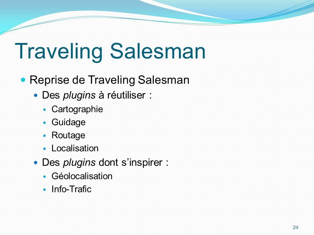 Traveling Salesman Reprise de Traveling Salesman