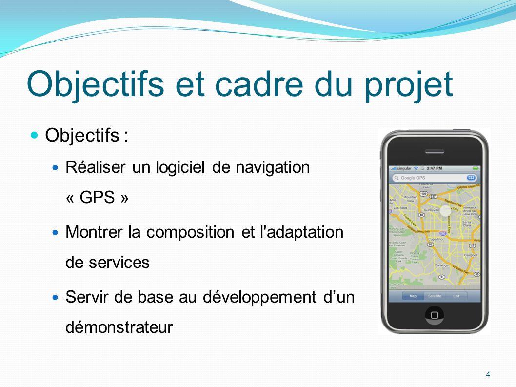 Objectifs et cadre du projet