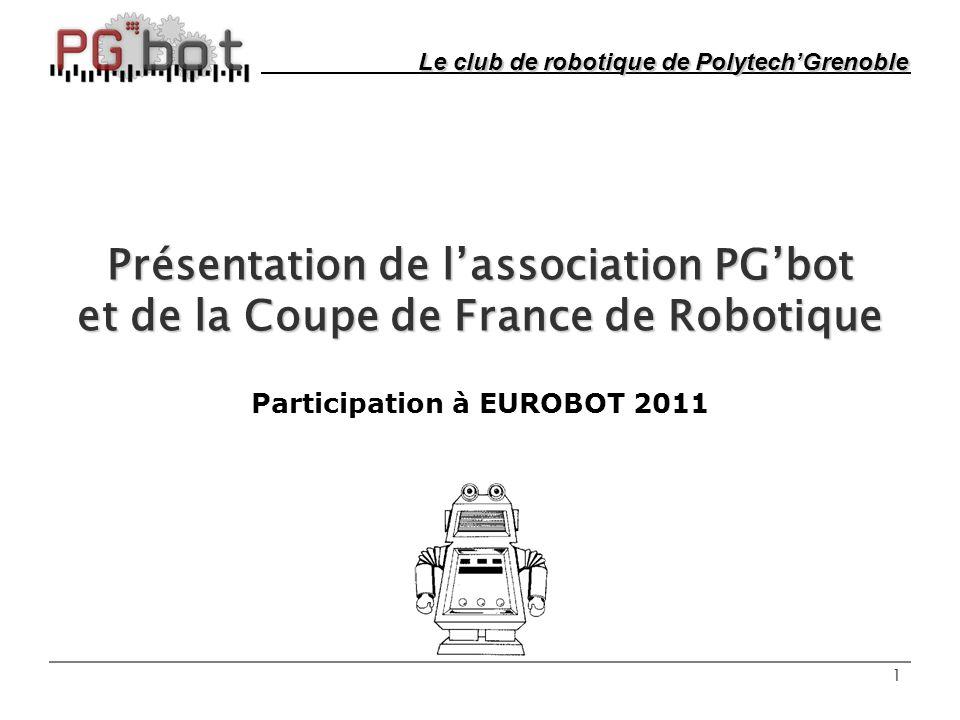 Participation à EUROBOT 2011
