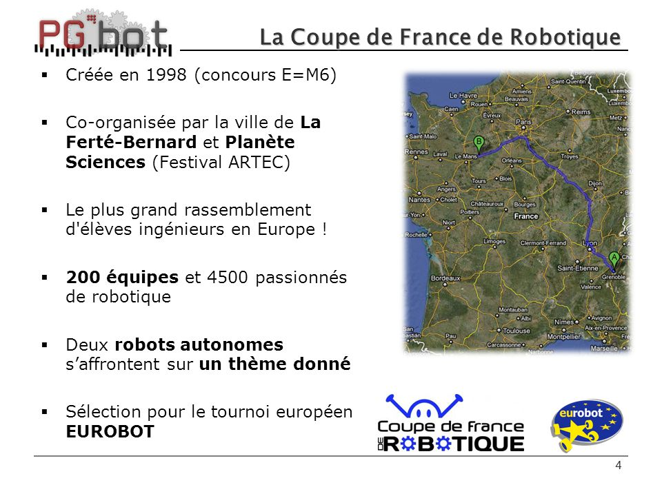 Participation eurobot ppt t l charger - Coupe de france robotique ...