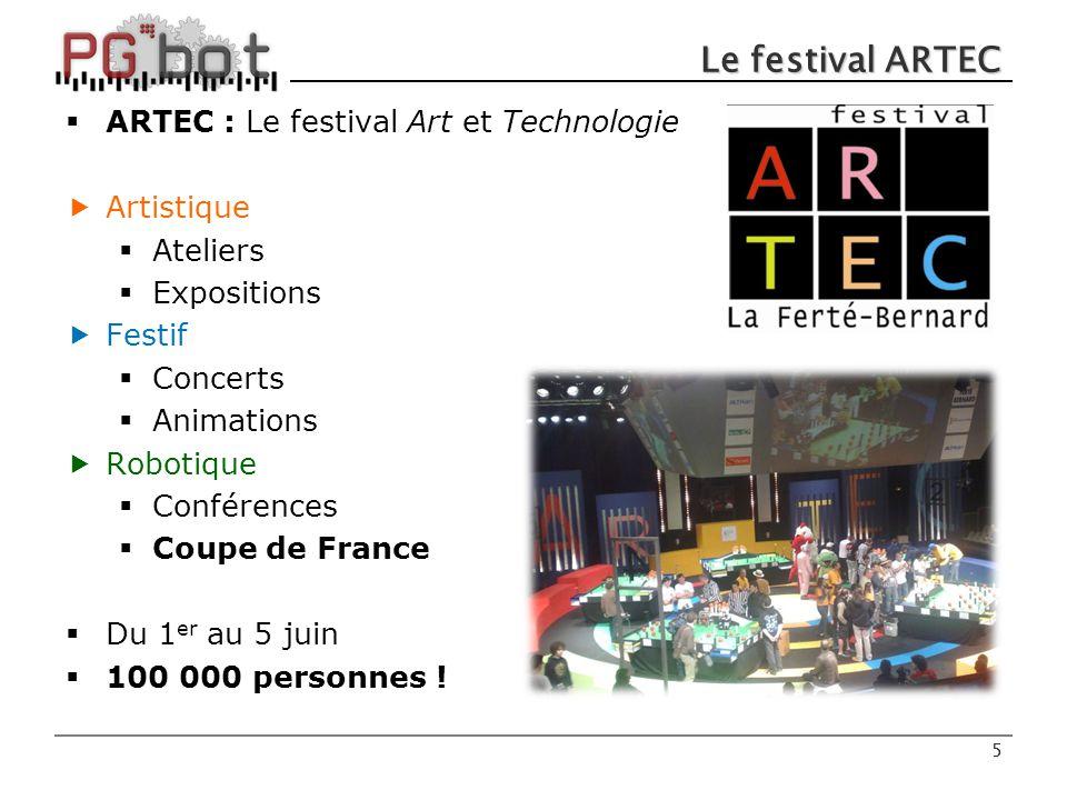 Le festival ARTEC ARTEC : Le festival Art et Technologie Artistique