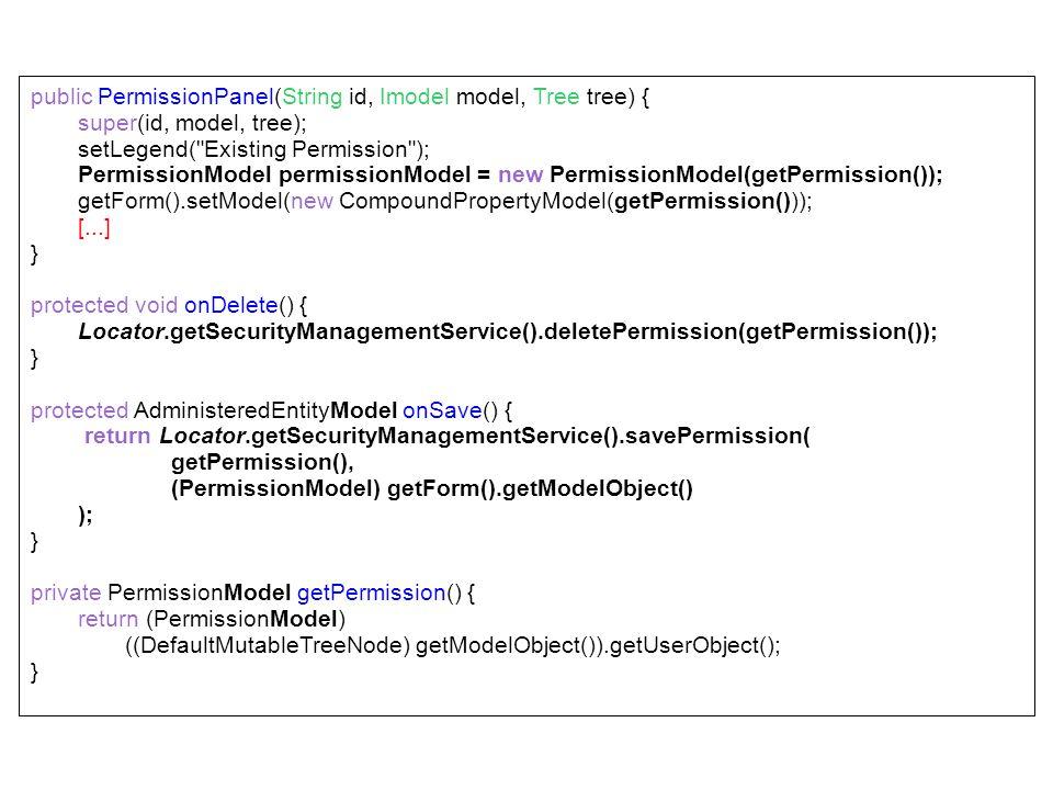 public PermissionPanel(String id, Imodel model, Tree tree) {