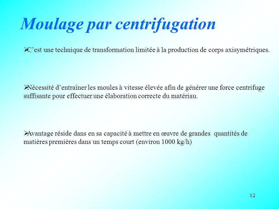 Moulage par centrifugation