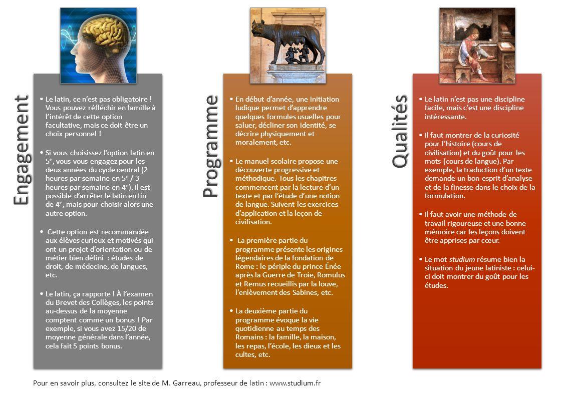 Engagement Programme Qualités