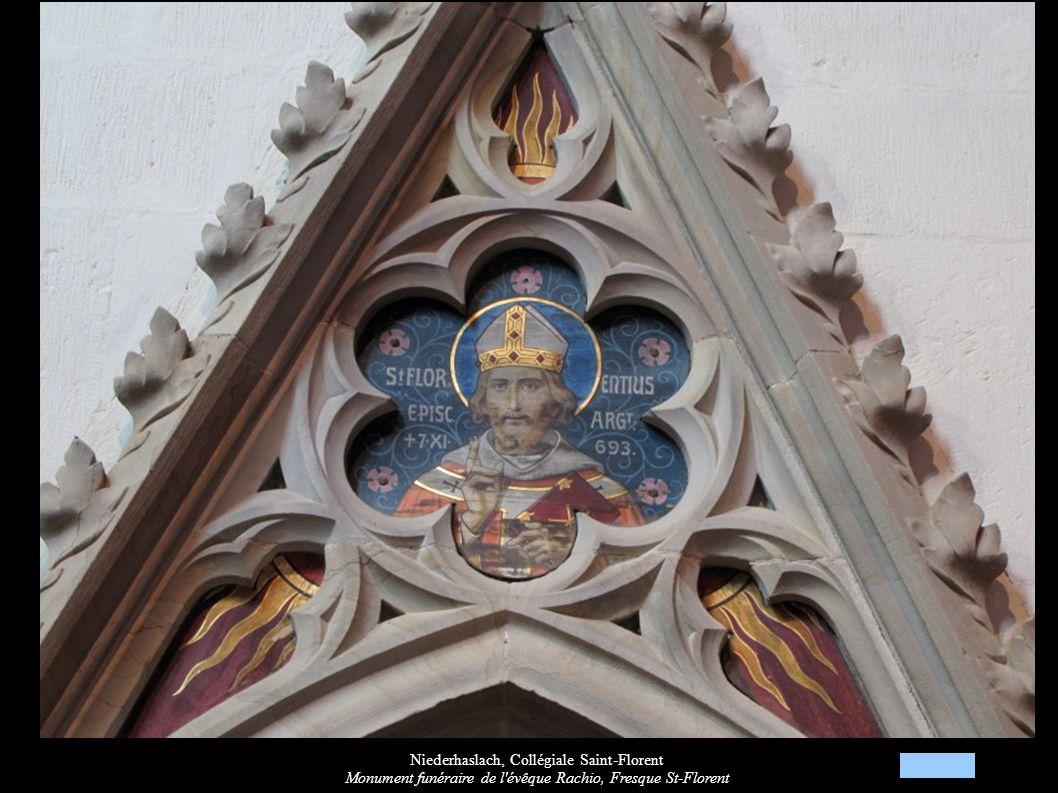 Niederhaslach, Collégiale Saint-Florent