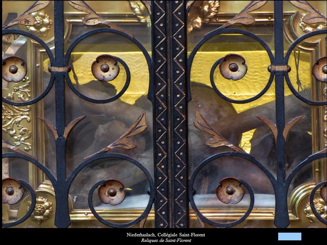 Niederhaslach, Collégiale Saint-Florent Reliques de Saint-Florent