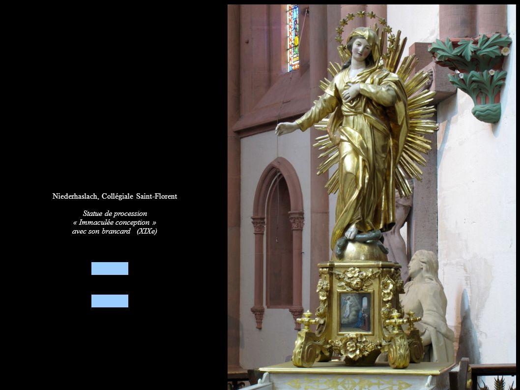 Niederhaslach, Collégiale Saint-Florent Statue de procession