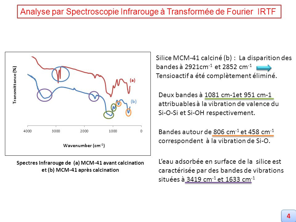 Analyse par Spectroscopie Infrarouge à Transformée de Fourier IRTF