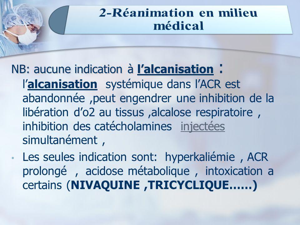 2-Réanimation en milieu médical