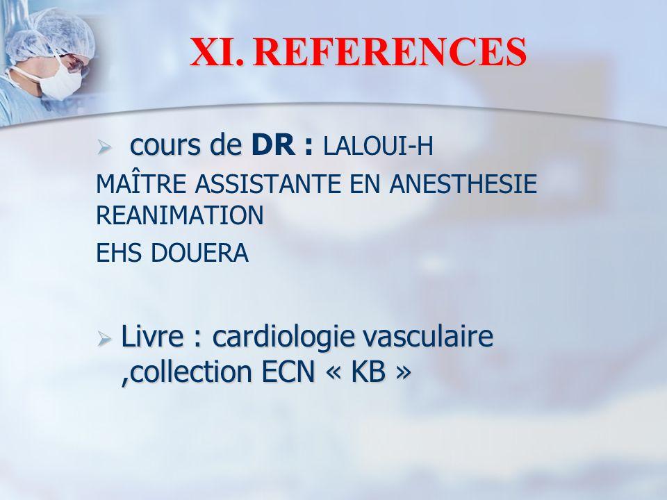 REFERENCES cours de DR : LALOUI-H