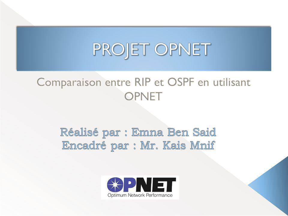 comparaison entre rip et ospf en utilisant opnet ppt video online t l charger. Black Bedroom Furniture Sets. Home Design Ideas