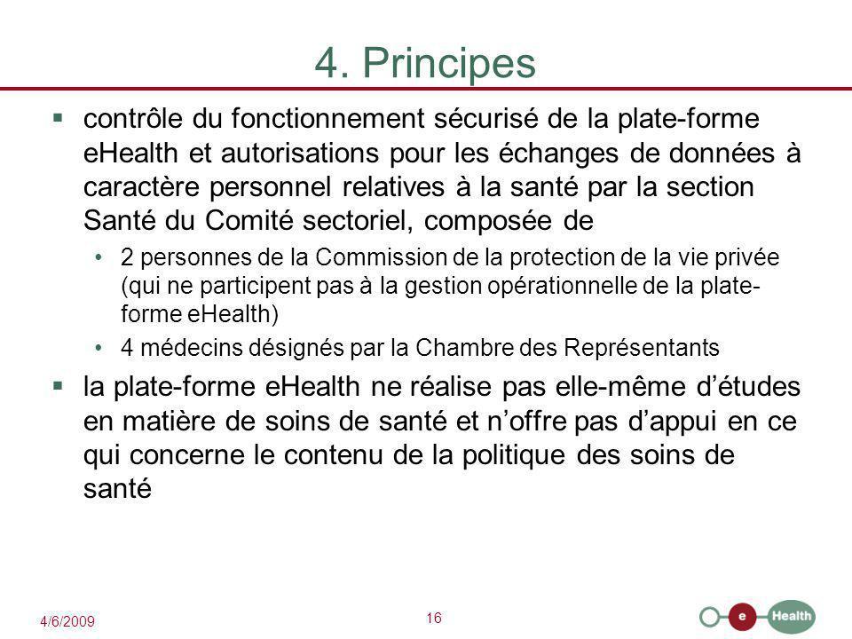 4. Principes