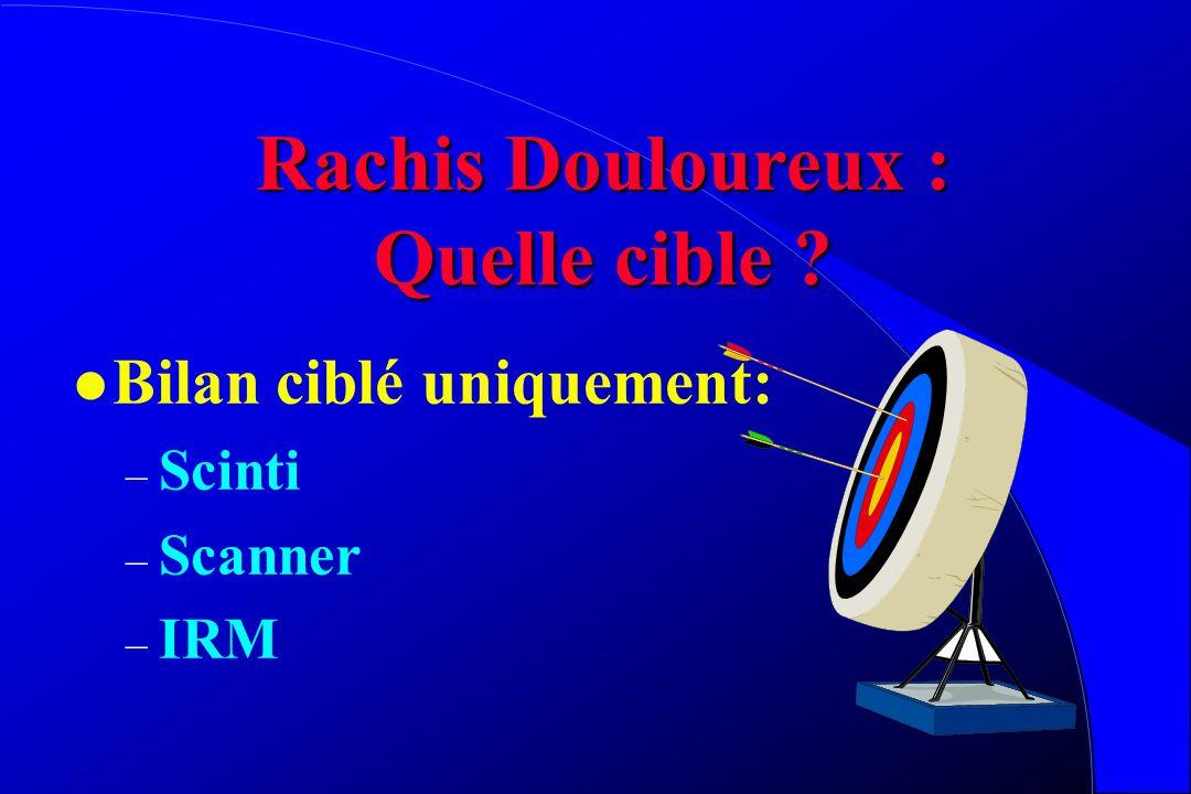 Rachis Douloureux : Quelle cible