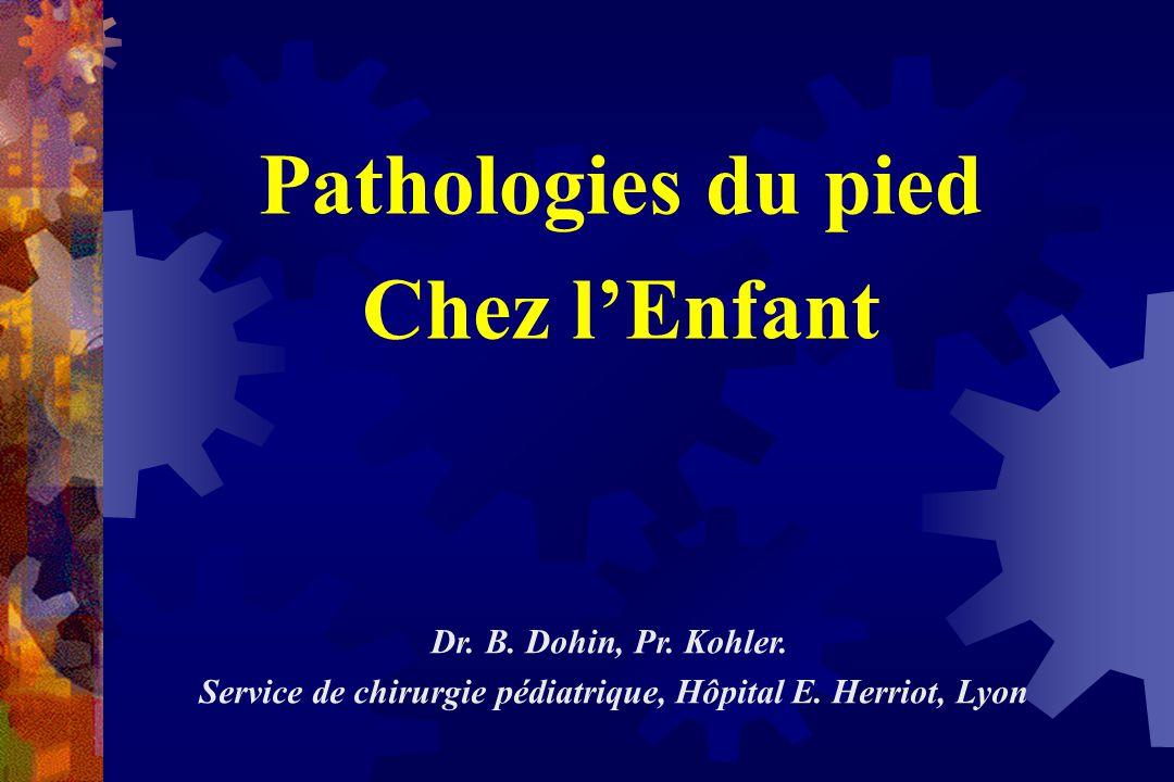 Service de chirurgie pédiatrique, Hôpital E. Herriot, Lyon