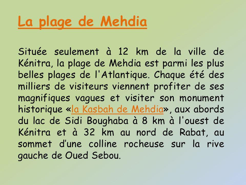 La plage de Mehdia