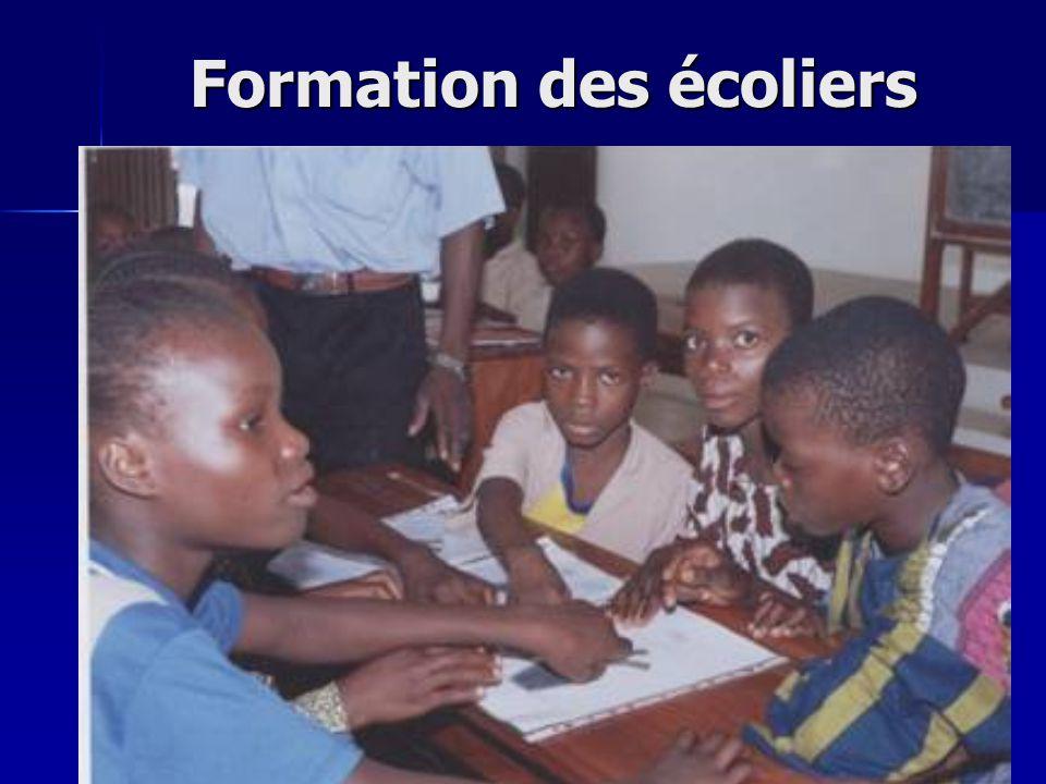 Formation des écoliers