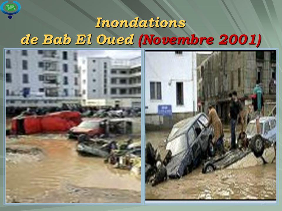 Inondations de Bab El Oued (Novembre 2001)
