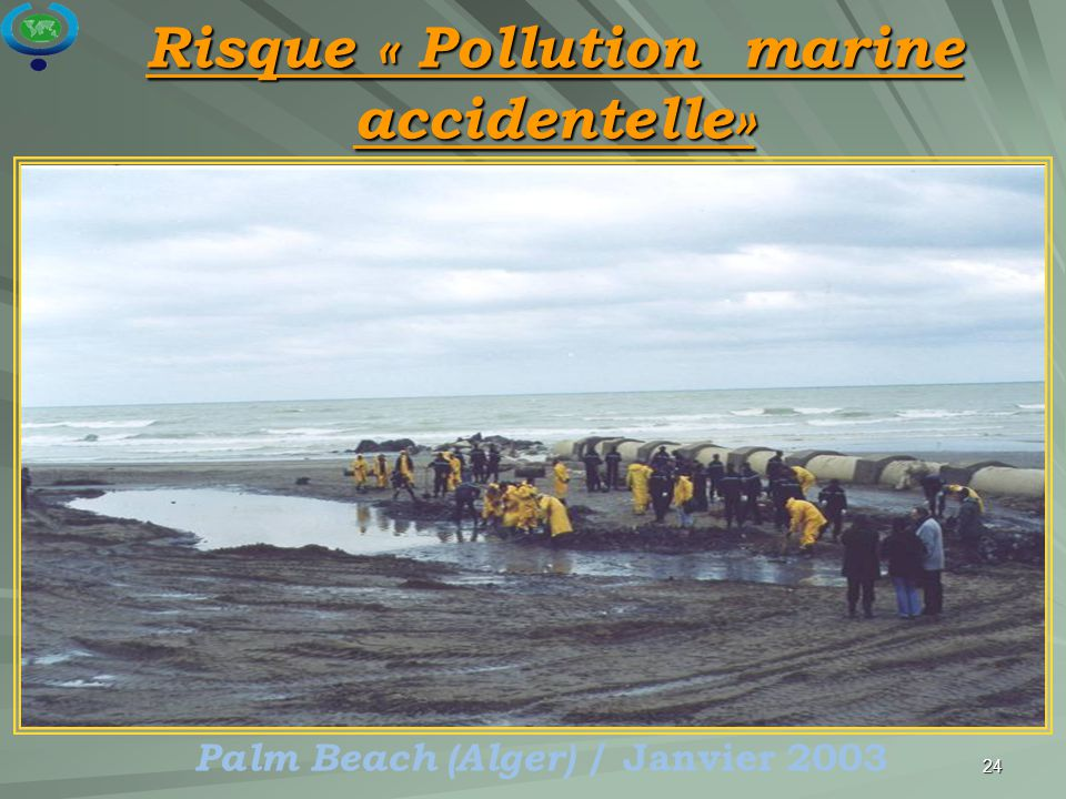 Risque « Pollution marine accidentelle»