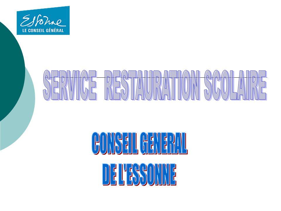 SERVICE RESTAURATION SCOLAIRE