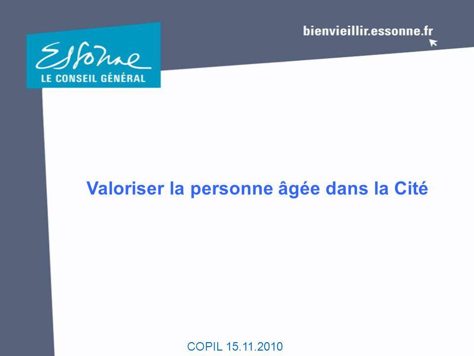 Valoriser la personne âgée dans la Cité