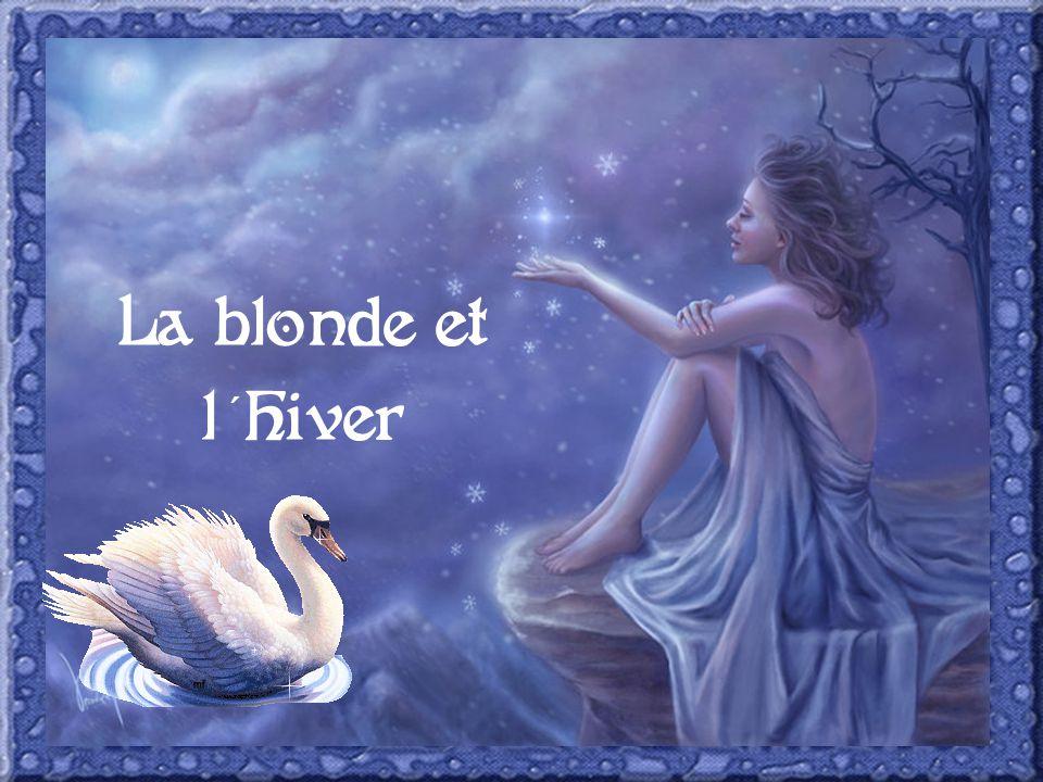 La blonde et l hiver