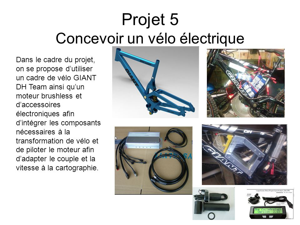 Projet 5 Concevoir un vélo électrique