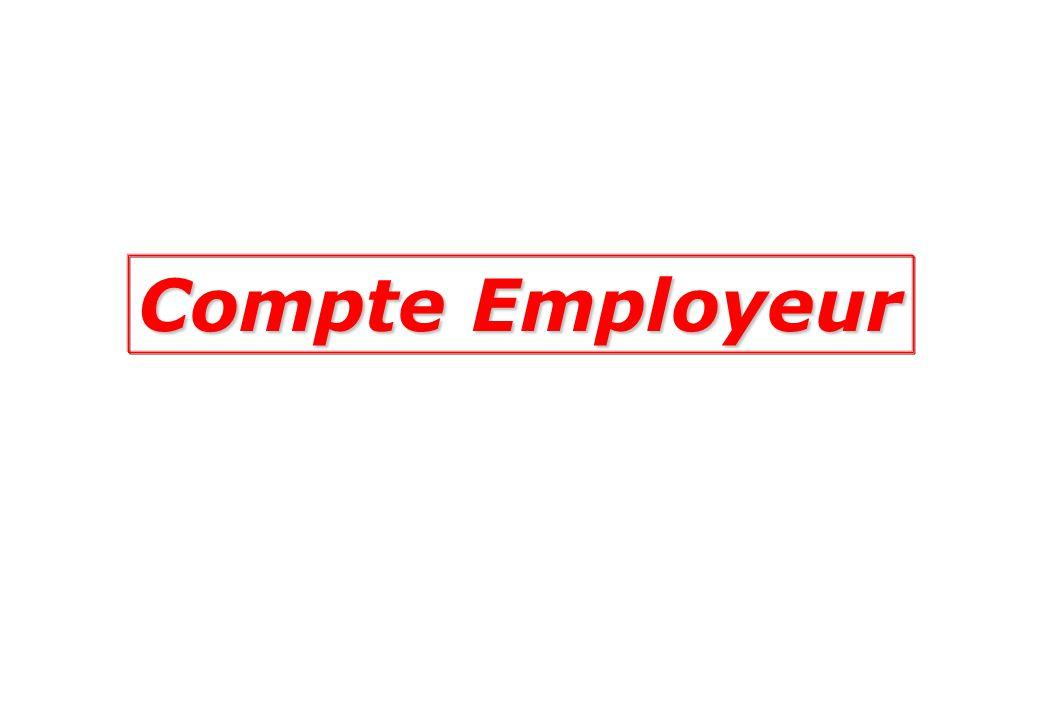 Compte Employeur
