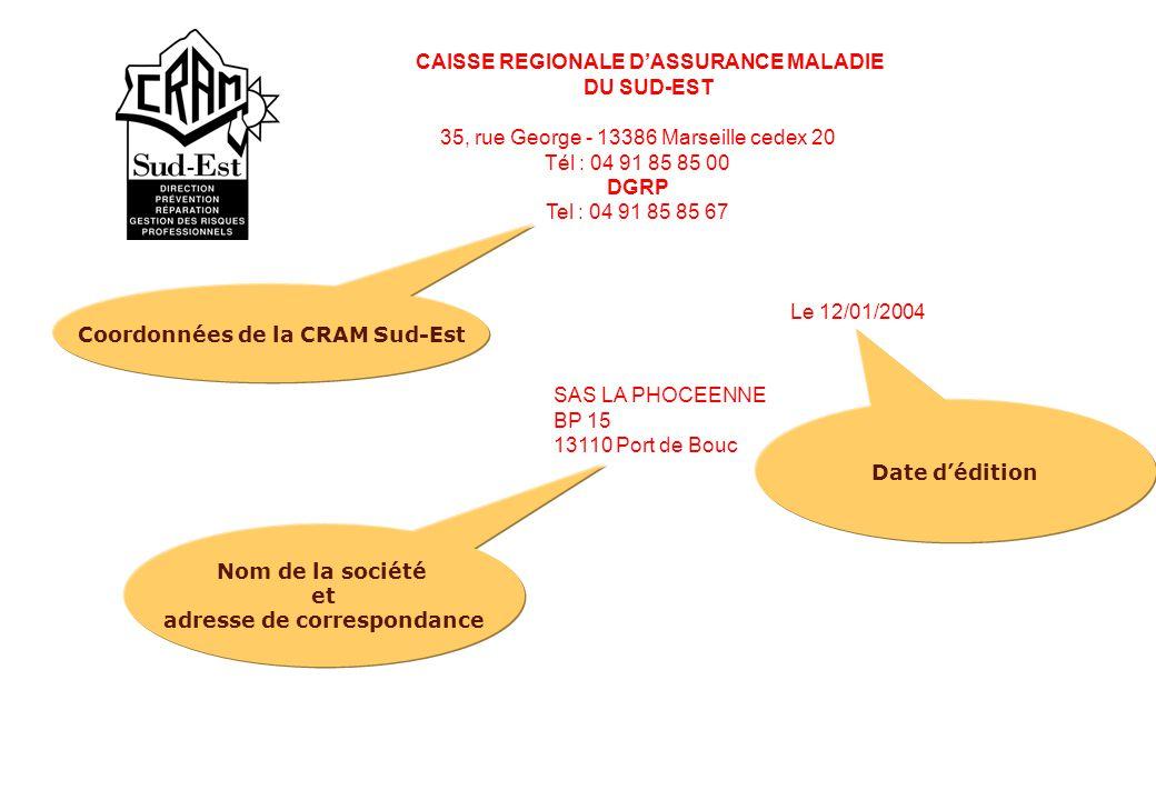CAISSE REGIONALE D'ASSURANCE MALADIE
