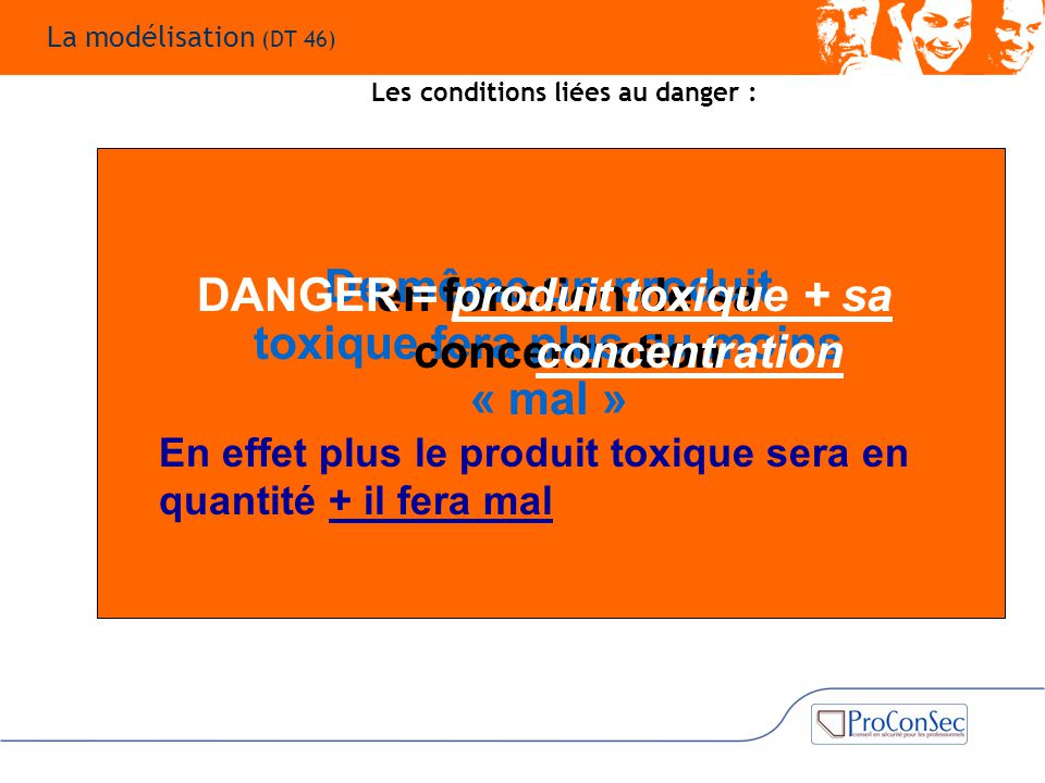 De même un produit toxique fera plus ou moins « mal »