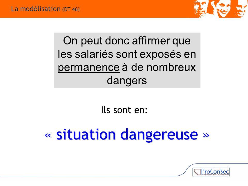« situation dangereuse »
