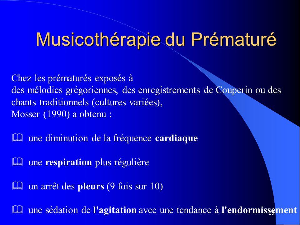 Musicothérapie du Prématuré